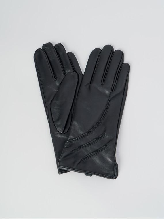 Перчатки кожа , цвет черный, арт. 18006070  - цена 1660 руб.  - магазин TOTOGROUP