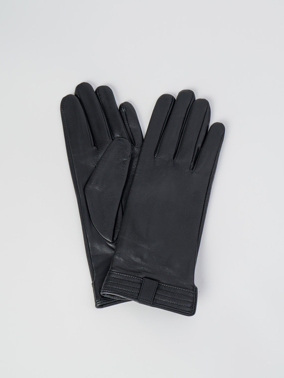 Перчатки кожа , цвет черный, арт. 18006072  - цена 2290 руб.  - магазин TOTOGROUP