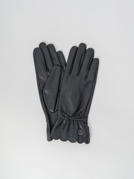 Перчатки кожа , цвет черный, арт. 18006073  - цена 1950 руб.  - магазин TOTOGROUP