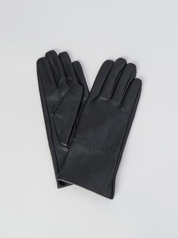 Перчатки кожа , цвет черный, арт. 18006075  - цена 2060 руб.  - магазин TOTOGROUP