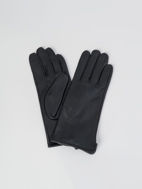 Перчатки кожа , цвет черный, арт. 18006078  - цена 1410 руб.  - магазин TOTOGROUP