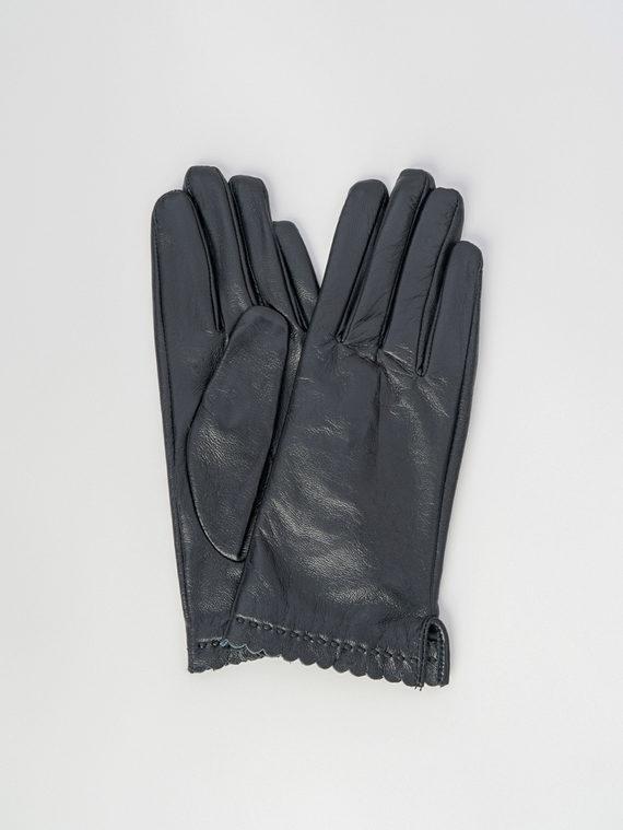 Перчатки кожа , цвет черный, арт. 18006079  - цена 1260 руб.  - магазин TOTOGROUP