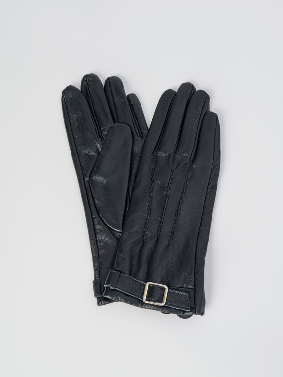 Перчатки кожа , цвет черный, арт. 18006080  - цена 1070 руб.  - магазин TOTOGROUP