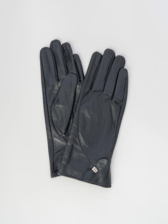 Перчатки кожа , цвет черный, арт. 18006081  - цена 1190 руб.  - магазин TOTOGROUP
