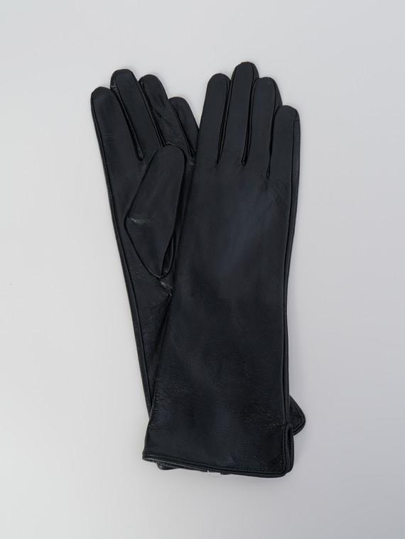 Перчатки кожа , цвет черный, арт. 18006082  - цена 1410 руб.  - магазин TOTOGROUP
