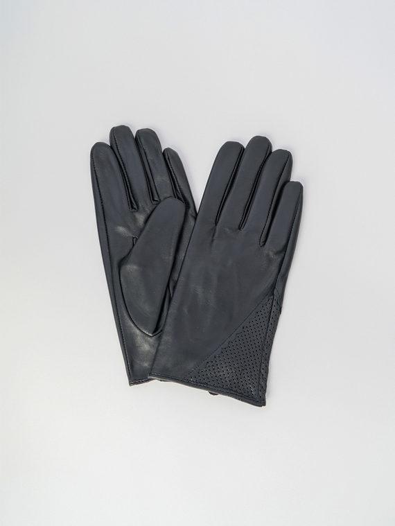 Перчатки кожа , цвет черный, арт. 18006086  - цена 990 руб.  - магазин TOTOGROUP