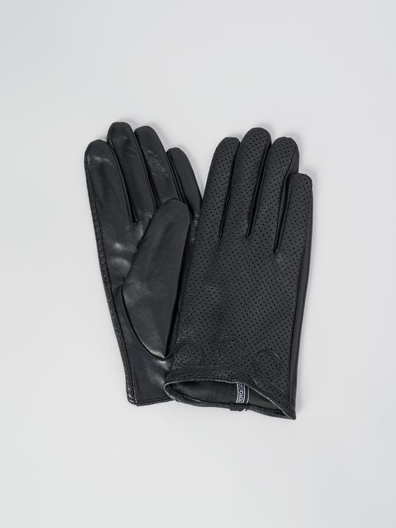 Перчатки кожа , цвет черный, арт. 18006087  - цена 1570 руб.  - магазин TOTOGROUP