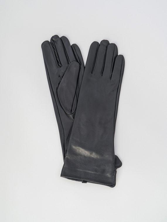 Перчатки кожа , цвет черный, арт. 18006088  - цена 1750 руб.  - магазин TOTOGROUP