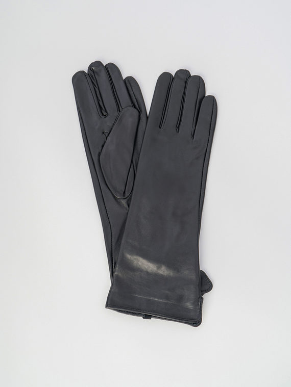 Перчатки кожа , цвет черный, арт. 18006088  - цена 2170 руб.  - магазин TOTOGROUP