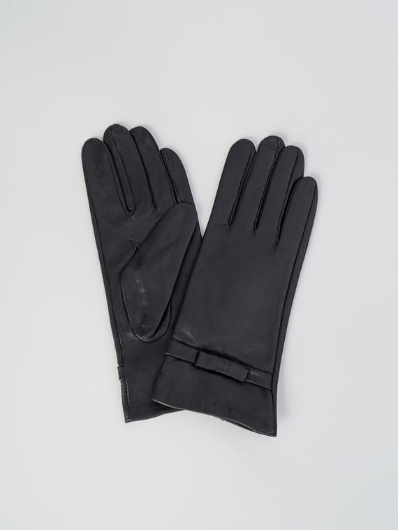 Перчатки кожа , цвет черный, арт. 18006089  - цена 1410 руб.  - магазин TOTOGROUP