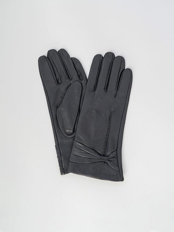 Перчатки кожа , цвет черный, арт. 18006090  - цена 1070 руб.  - магазин TOTOGROUP