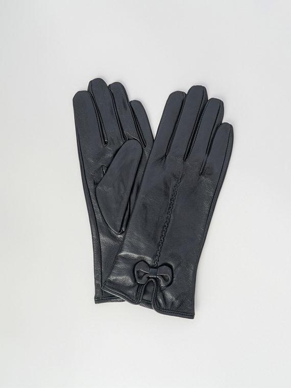 Перчатки кожа , цвет черный, арт. 18006093  - цена 990 руб.  - магазин TOTOGROUP