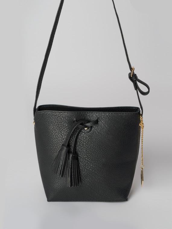 Сумка эко кожа флоттер, цвет черный, арт. 18006099  - цена 2290 руб.  - магазин TOTOGROUP