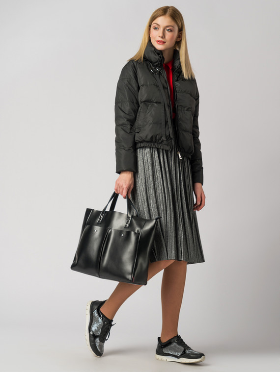 Ветровка текстиль, цвет черный, арт. 18006121  - цена 3390 руб.  - магазин TOTOGROUP