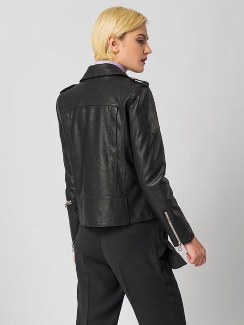Кожаная куртка артикул 18006125/40 - фото 3