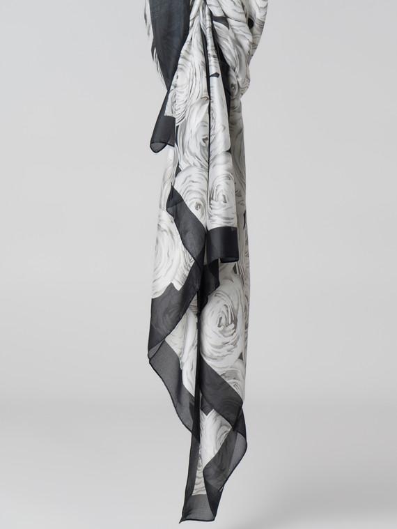 Шарф 80% п\э, 20% шелк, цвет черный, арт. 18006126  - цена 1260 руб.  - магазин TOTOGROUP