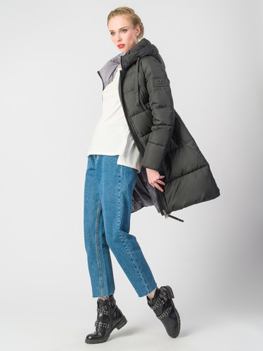 Пуховик текстиль, цвет черный, арт. 18006200  - цена 9490 руб.  - магазин TOTOGROUP