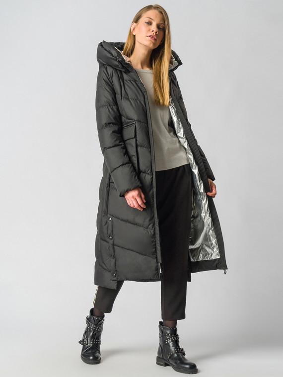 Пуховик текстиль, цвет черный, арт. 18006202  - цена 10590 руб.  - магазин TOTOGROUP