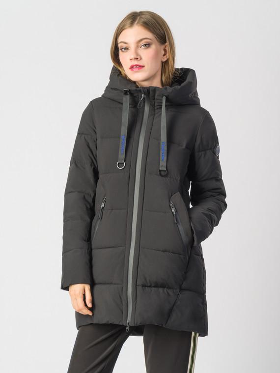 Пуховик текстиль, цвет черный, арт. 18006260  - цена 9990 руб.  - магазин TOTOGROUP
