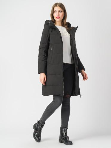 Пуховик текстиль, цвет черный, арт. 18006265  - цена 9490 руб.  - магазин TOTOGROUP