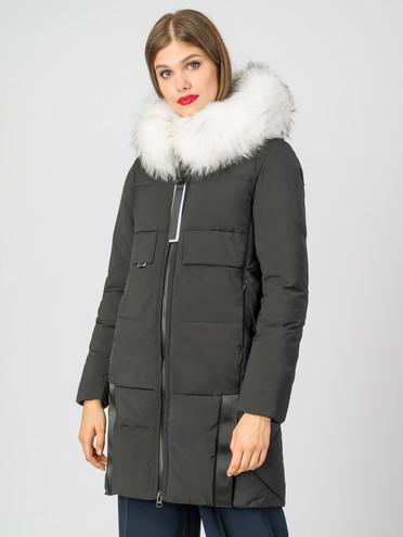 Пуховик текстиль, цвет черный, арт. 18006277  - цена 8990 руб.  - магазин TOTOGROUP