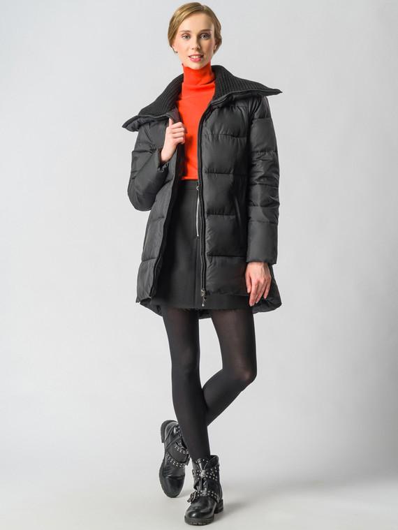 Пуховик текстиль, цвет черный, арт. 18006287  - цена 9990 руб.  - магазин TOTOGROUP