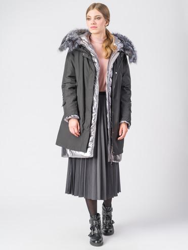 Пуховик текстиль, цвет черный, арт. 18006310  - цена 17990 руб.  - магазин TOTOGROUP