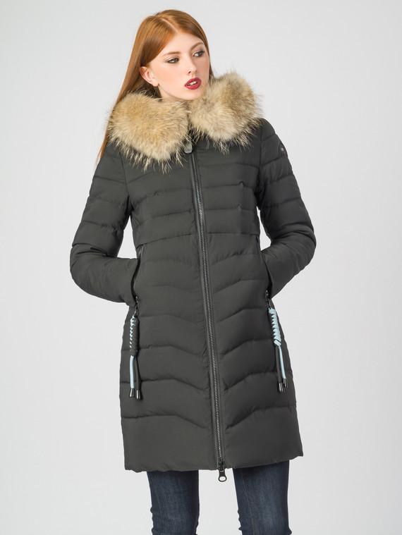 Пуховик текстиль, цвет черный, арт. 18006316  - цена 7990 руб.  - магазин TOTOGROUP
