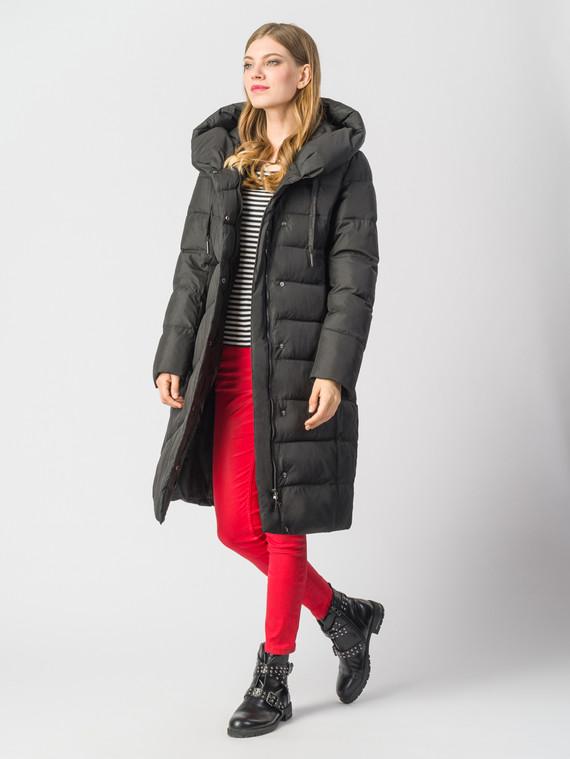 Пуховик текстиль, цвет черный, арт. 18006335  - цена 8990 руб.  - магазин TOTOGROUP