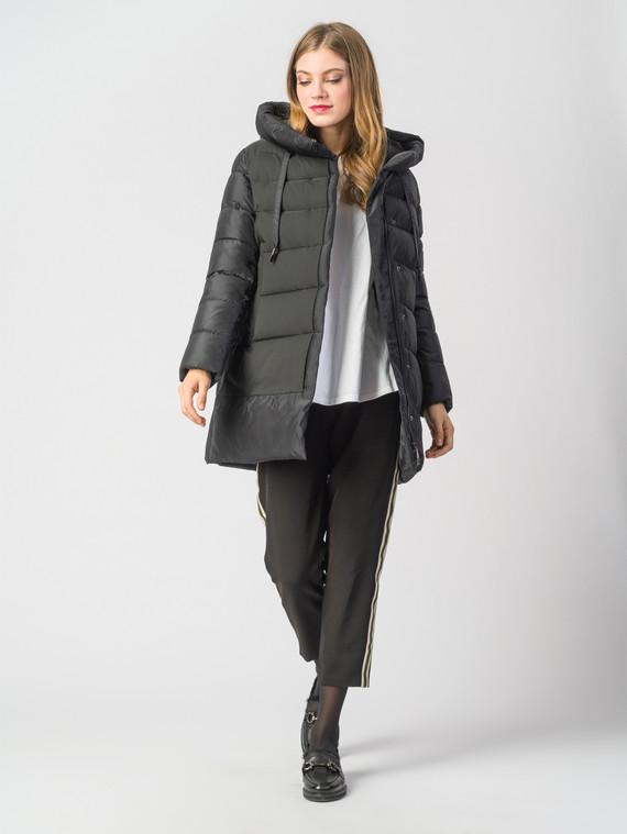 Пуховик текстиль, цвет черный, арт. 18006337  - цена 8990 руб.  - магазин TOTOGROUP