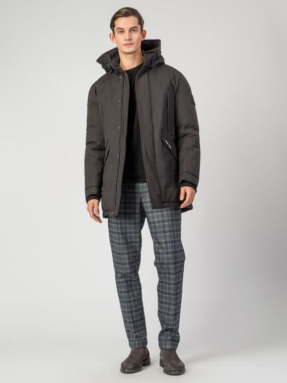 Пуховик текстиль, цвет черный, арт. 18006342  - цена 5590 руб.  - магазин TOTOGROUP