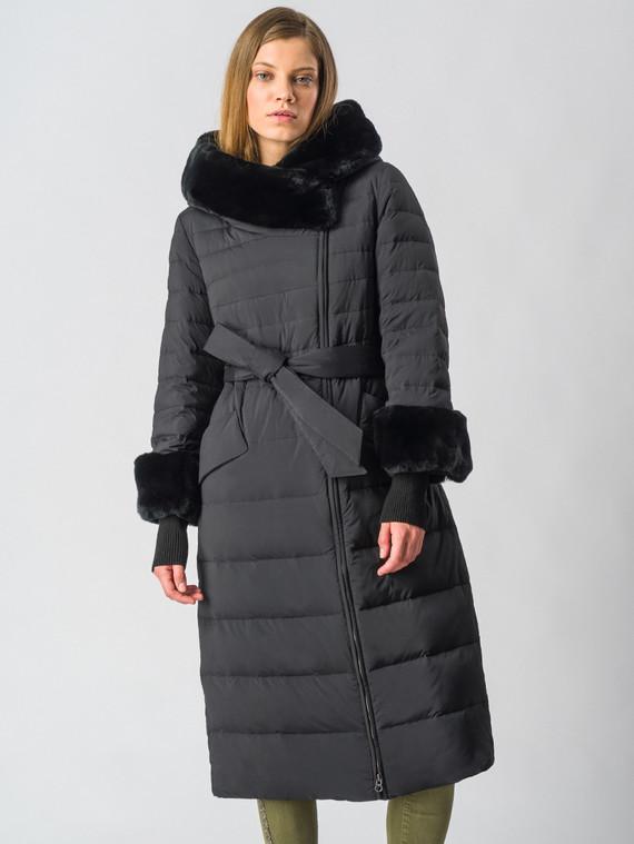Пуховик текстиль, цвет черный, арт. 18006352  - цена 18990 руб.  - магазин TOTOGROUP