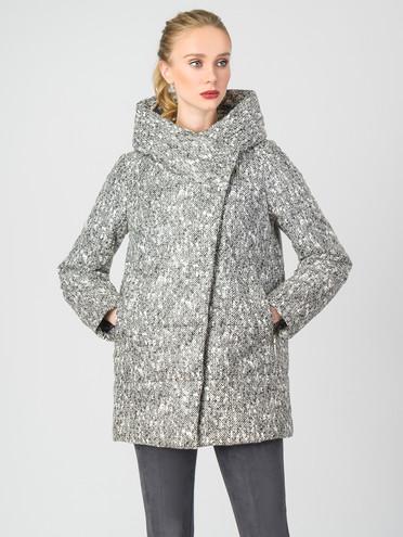 Кожаная куртка эко-кожа 100% П/А, цвет серый, арт. 18006433  - цена 3590 руб.  - магазин TOTOGROUP