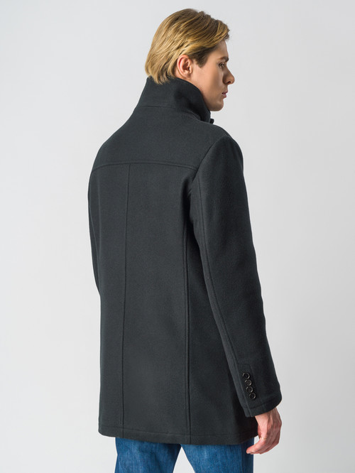 Текстильное пальто артикул 18006434/48 - фото 3