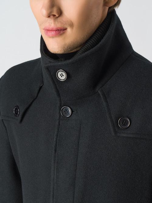 Текстильное пальто артикул 18006434/48 - фото 4