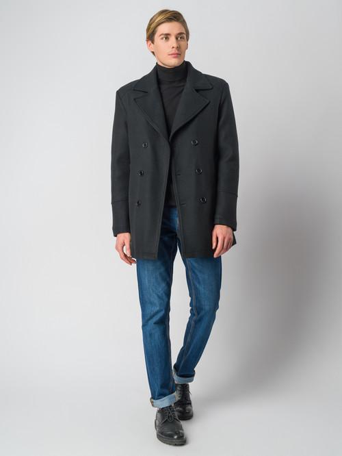 Текстильное пальто артикул 18006436/48 - фото 2