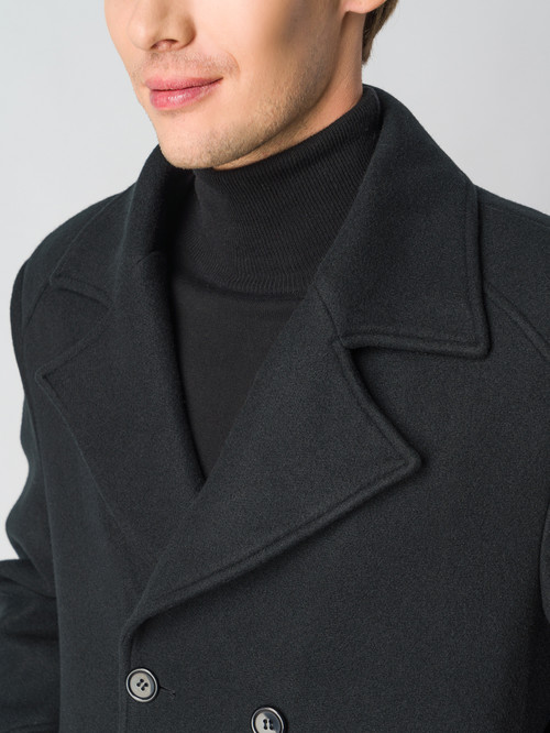 Текстильное пальто артикул 18006436/48 - фото 4