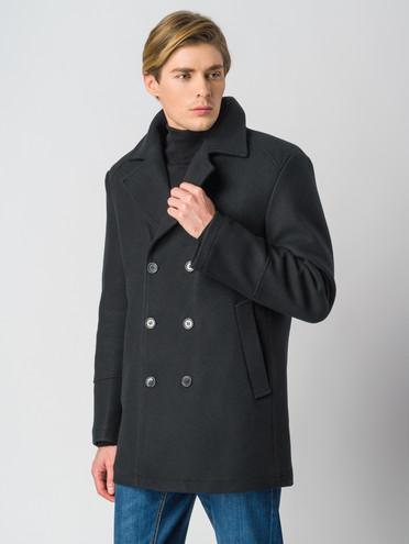 Текстильное пальто 30% шерсть, 70% п.э, цвет черный, арт. 18006436  - цена 4490 руб.  - магазин TOTOGROUP