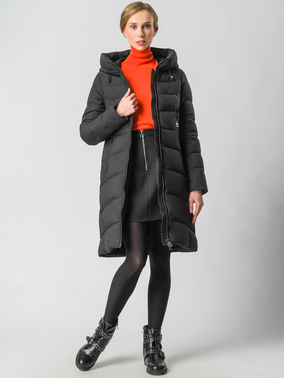 Пуховик текстиль, цвет черный, арт. 18006454  - цена 8990 руб.  - магазин TOTOGROUP