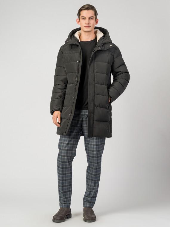 Пуховик текстиль, цвет черный, арт. 18006508  - цена 7990 руб.  - магазин TOTOGROUP