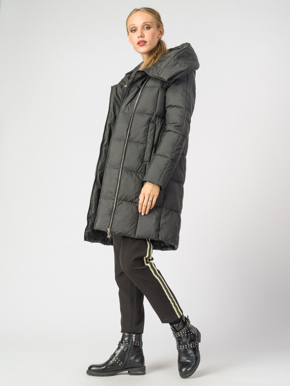 Пуховик текстиль, цвет черный, арт. 18006516  - цена 6990 руб.  - магазин TOTOGROUP