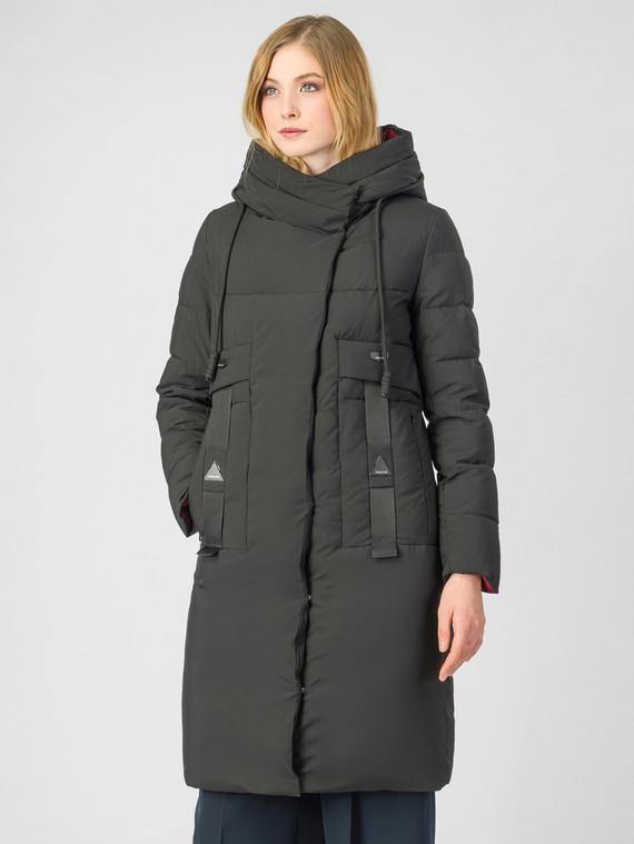 Пуховик текстиль, цвет черный, арт. 18006543  - цена 6290 руб.  - магазин TOTOGROUP