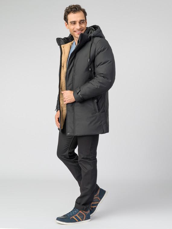 Пуховик текстиль, цвет черный, арт. 18006570  - цена 6630 руб.  - магазин TOTOGROUP
