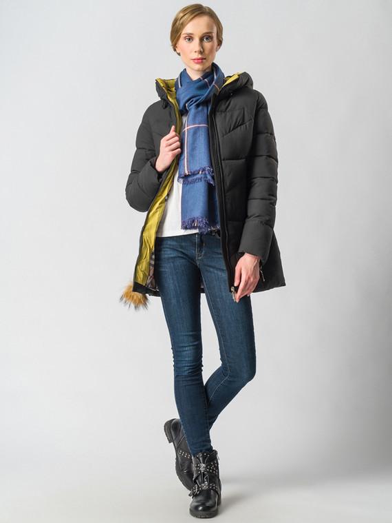 Пуховик текстиль, цвет черный, арт. 18006580  - цена 5890 руб.  - магазин TOTOGROUP