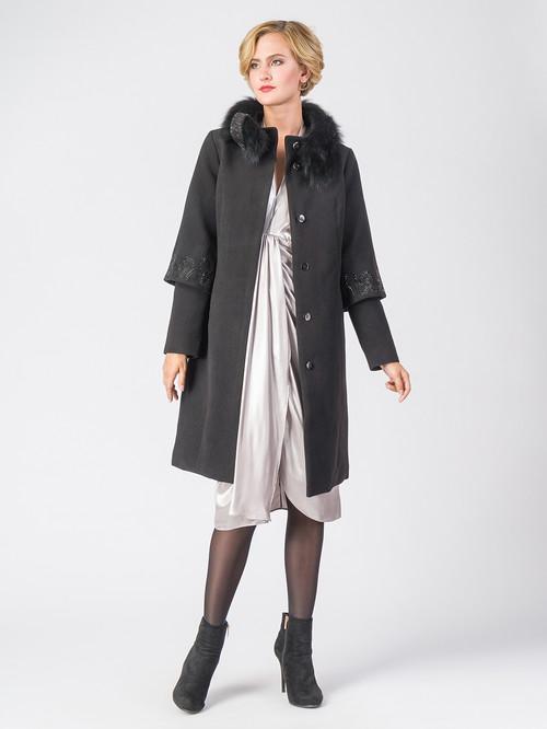 Текстильное пальто артикул 18006606/42 - фото 2