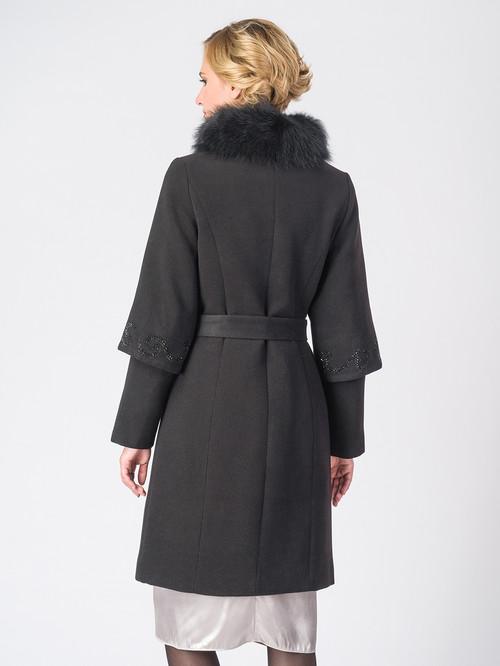 Текстильное пальто артикул 18006606/42 - фото 3
