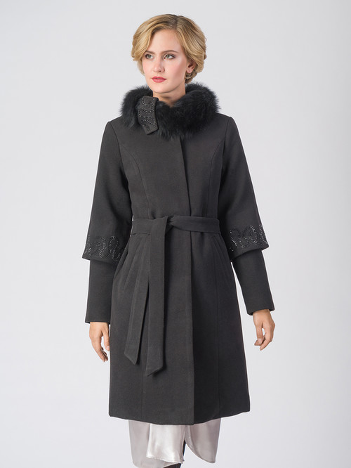 Текстильное пальто артикул 18006606/42