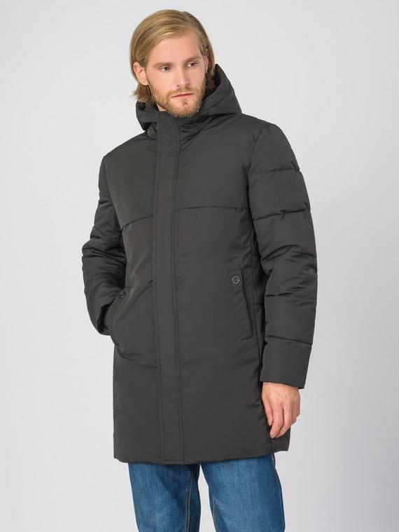 Пуховик текстиль, цвет черный, арт. 18006685  - цена 6290 руб.  - магазин TOTOGROUP
