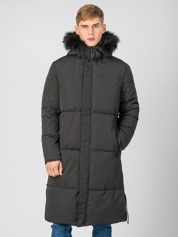 Пуховик текстиль, цвет черный, арт. 18006691  - цена 5290 руб.  - магазин TOTOGROUP