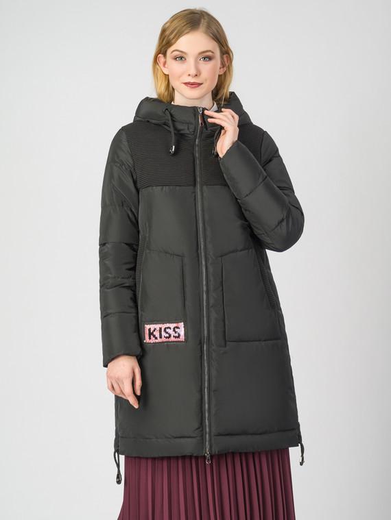 Пуховик текстиль, цвет черный, арт. 18006774  - цена 5590 руб.  - магазин TOTOGROUP